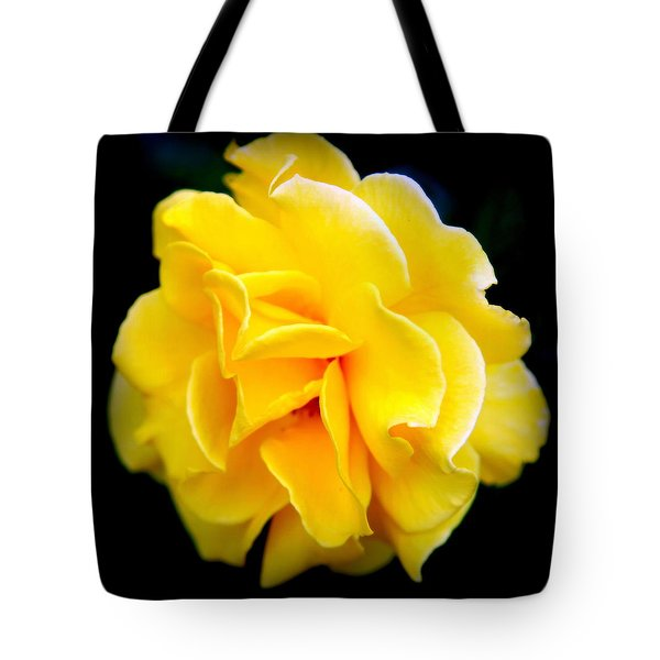 Petals And Lace Tote Bag by Karen Wiles
