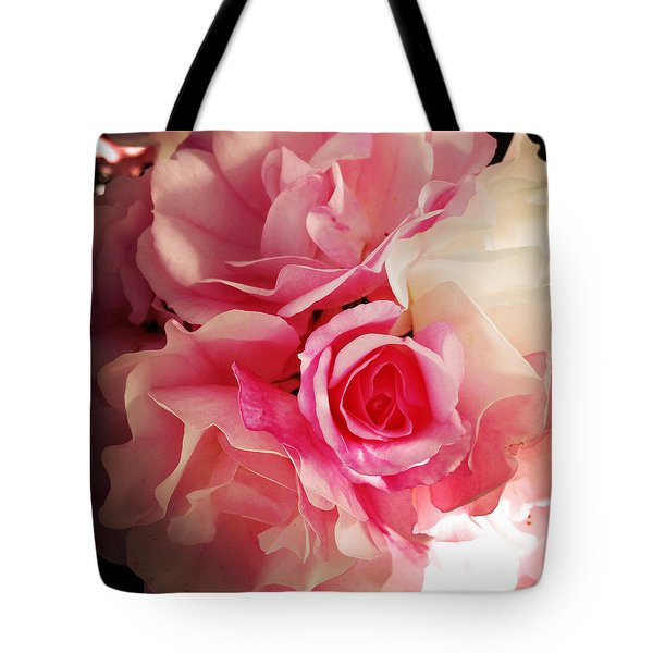 Petals Tote Bag by Les Cunliffe