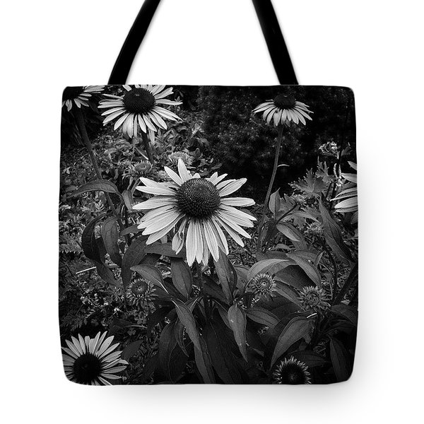 Petals Monochrome Tote Bag
