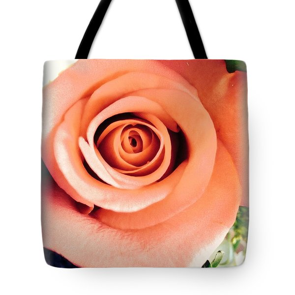 Petals Of Peach Tote Bag