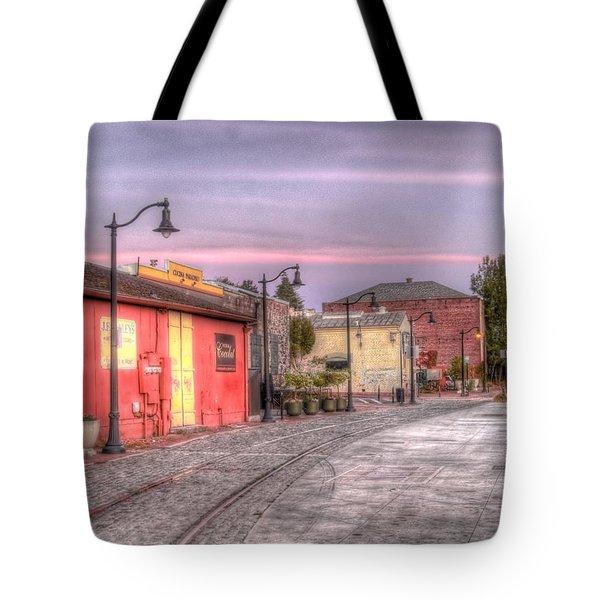 Petaluma Morning Tote Bag by Bill Gallagher