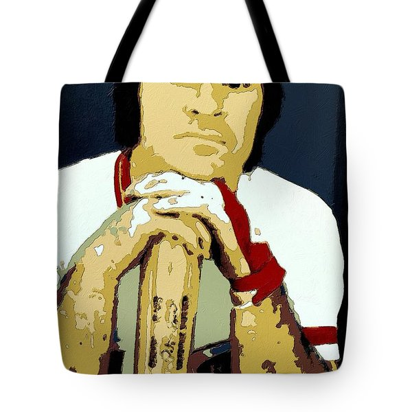 Pete Rose Poster Art Tote Bag