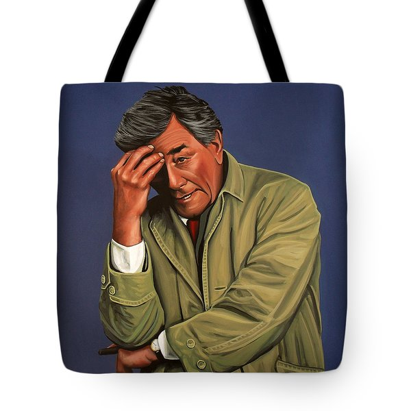 Peter Falk As Columbo Tote Bag