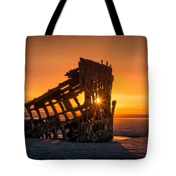Peter Iredale Ship Tote Bag by James Hammond