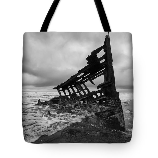 Peter Iredale Shipwreck Oregon 1 Tote Bag