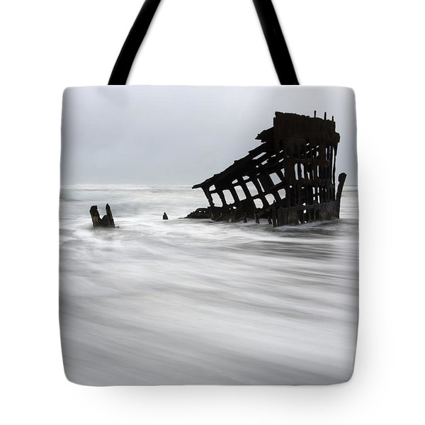 Peter Iredale Shipwreck Oregon 2 Tote Bag