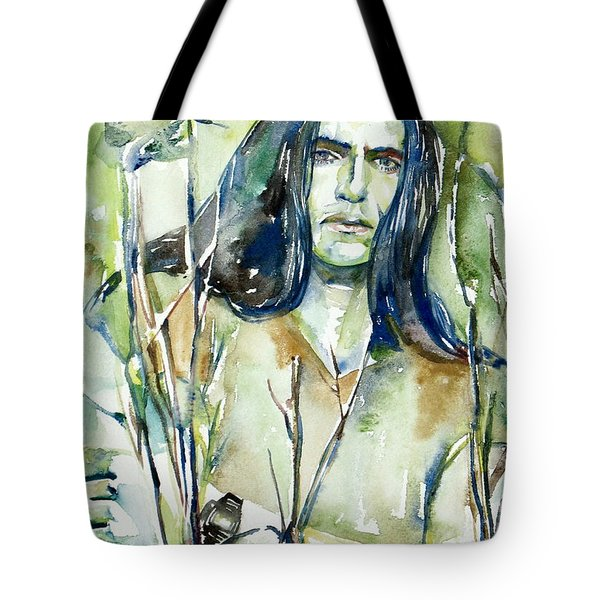 Peter Steele Portrait.1 Tote Bag by Fabrizio Cassetta