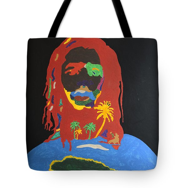 Peter Tosh Bush Doctor Tote Bag by Stormm Bradshaw