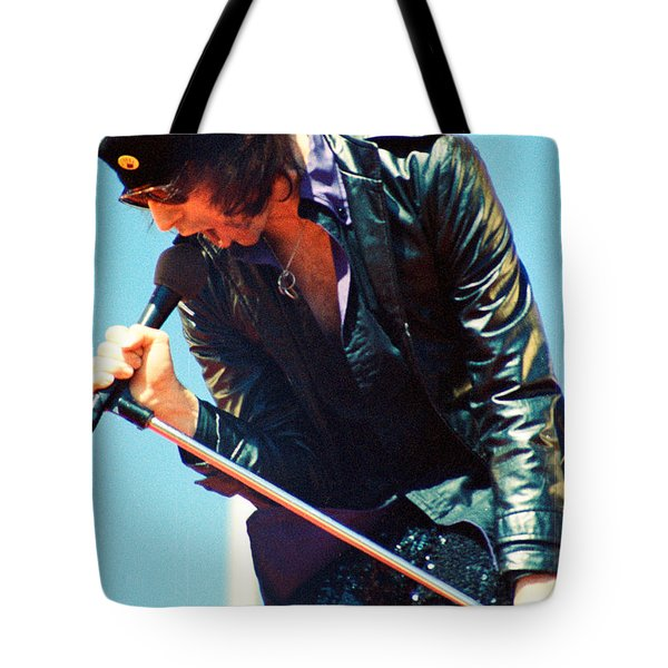 Peter Wolf From J Geils Band - Day On The Green July 4th 1979 Tote Bag