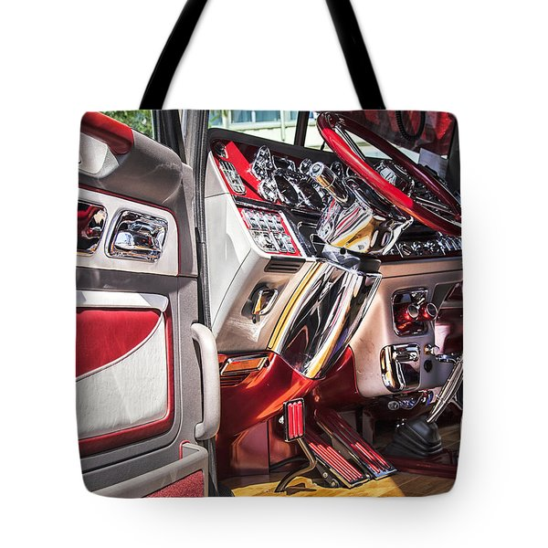 Peterbilt Interior Tote Bag
