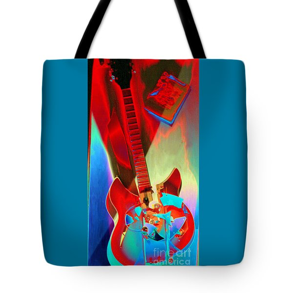 Pete's Guitar Tote Bag