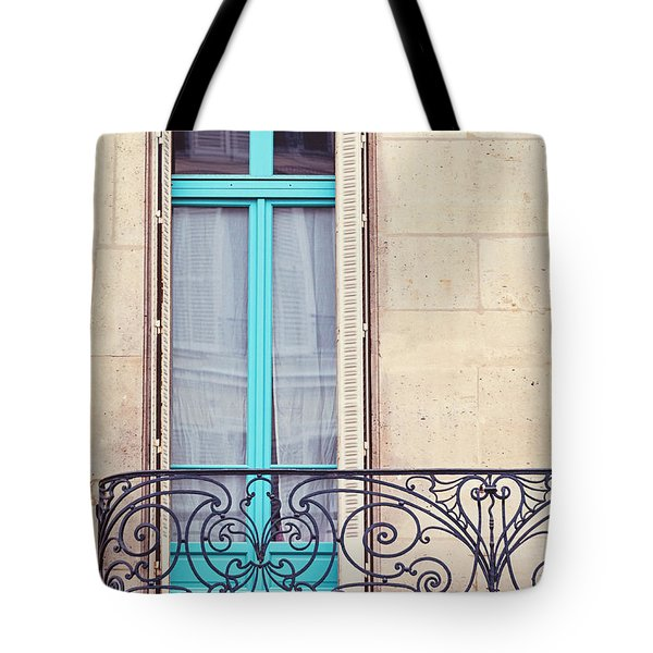 Petit - Parisian Balcony  Tote Bag by Melanie Alexandra Price