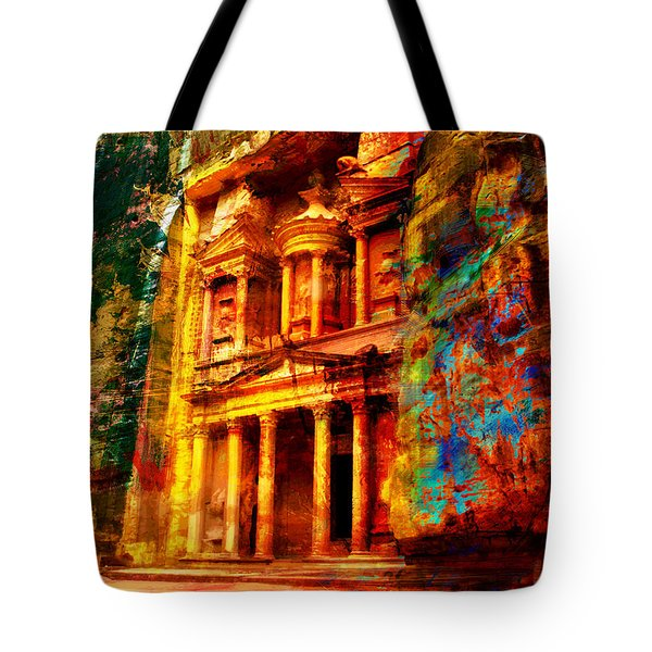 Petra Tote Bag by Catf
