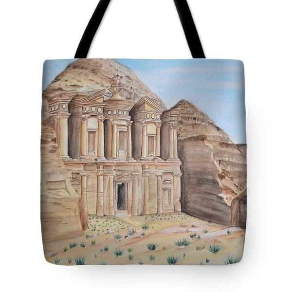Petra Tote Bag by Swati Singh