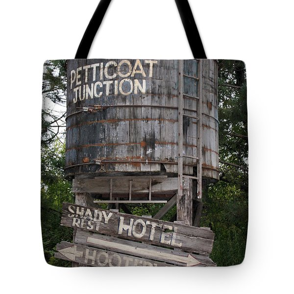 Petticoat Junction Tote Bag by Kristin Elmquist