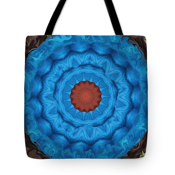 Petunias Inside Out Tote Bag by Aliceann Carlton