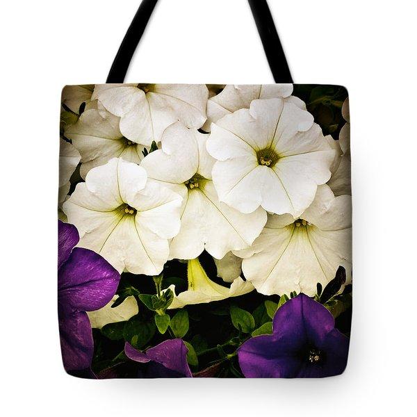 Petunias Tote Bag by Susan Kinney