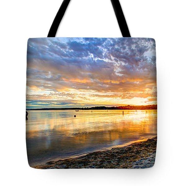Pewaukee Vibrant Evening  Tote Bag