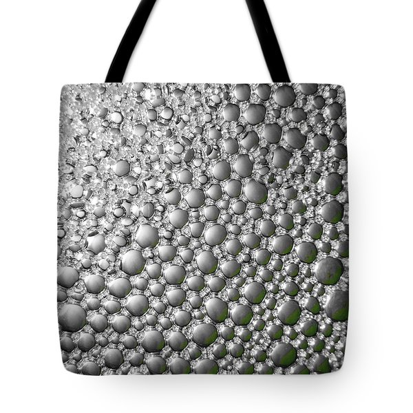 Pewter Rain Tote Bag