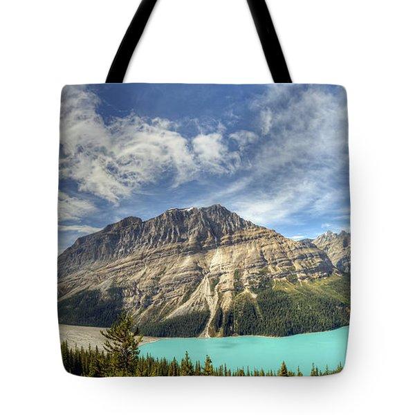 Peyto Lake Tote Bag by Wanda Krack