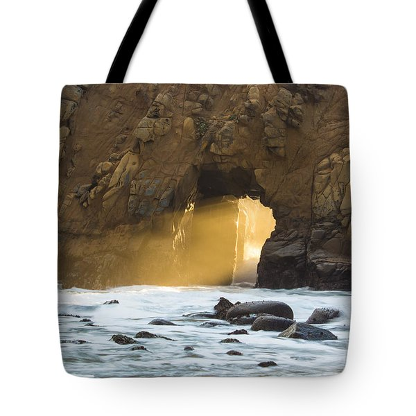 Pfeiffer At Sunset Tote Bag