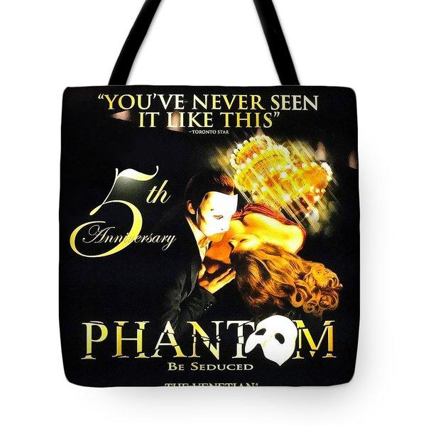 Phantom At The Venetian Tote Bag
