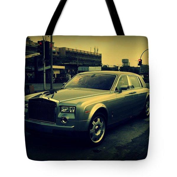 Tote Bag featuring the photograph Rolls Royce Phantom by Salman Ravish