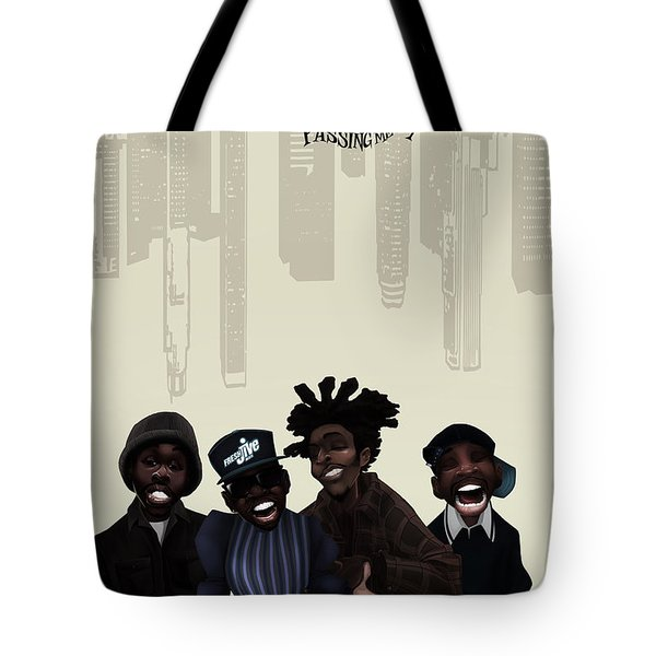 Pharcyde -passing Me By 1 Tote Bag