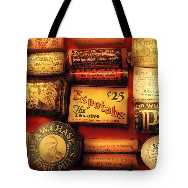 Pharmacist - The Druggist Tote Bag by Mike Savad