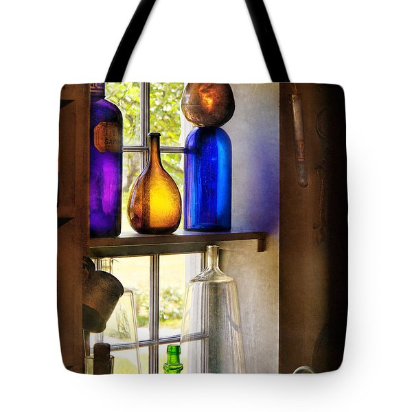 Pharmacy - Colorful Glassware  Tote Bag