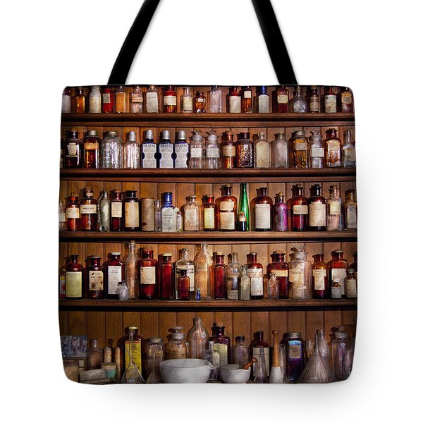 Pharmacy - Pharma-palooza  Tote Bag by Mike Savad