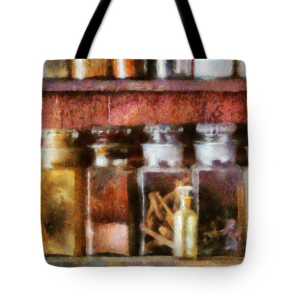 Pharmacy - The Curious Doctor Tote Bag