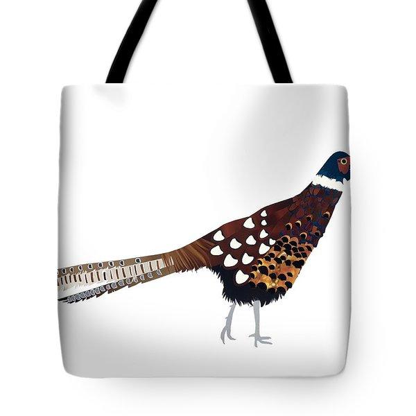 Pheasant Tote Bag by Isobel Barber