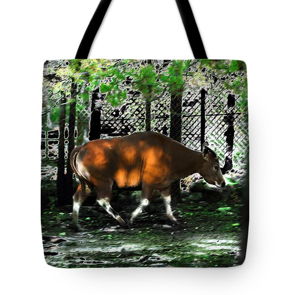 Phenomena Of Banteng Walk Tote Bag by Miroslava Jurcik