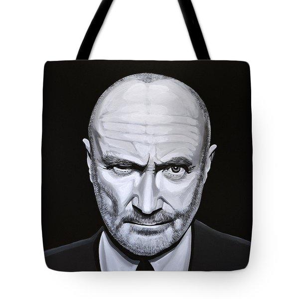 Phil Collins Tote Bag