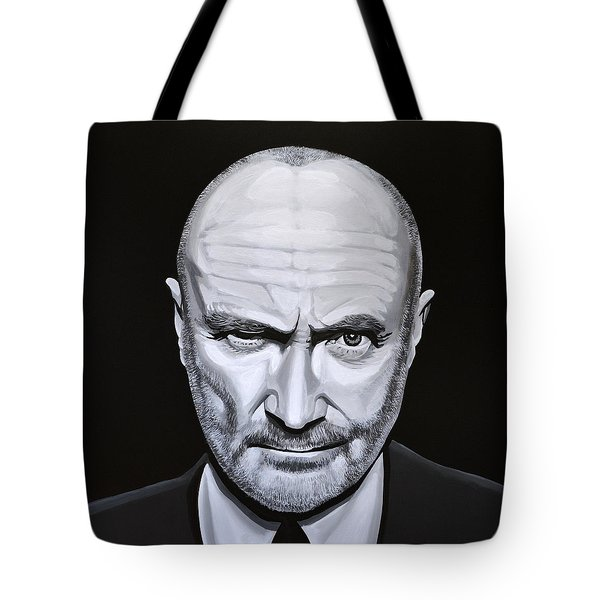 Phil Collins Tote Bag