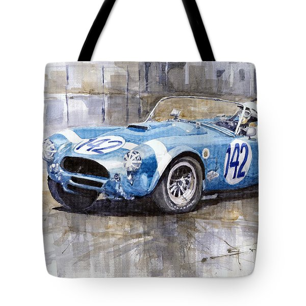 Phil Hill Ac Cobra-ford Targa Florio 1964 Tote Bag