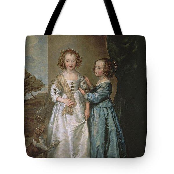 Philadelphia And Elisabeth Wharton, 1640 Tote Bag