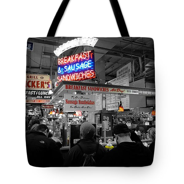 Philadelphia - Breakfast At Smucker's Tote Bag