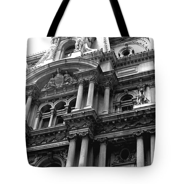Philadelphia City Hall   Tote Bag by Vickie G Buccini
