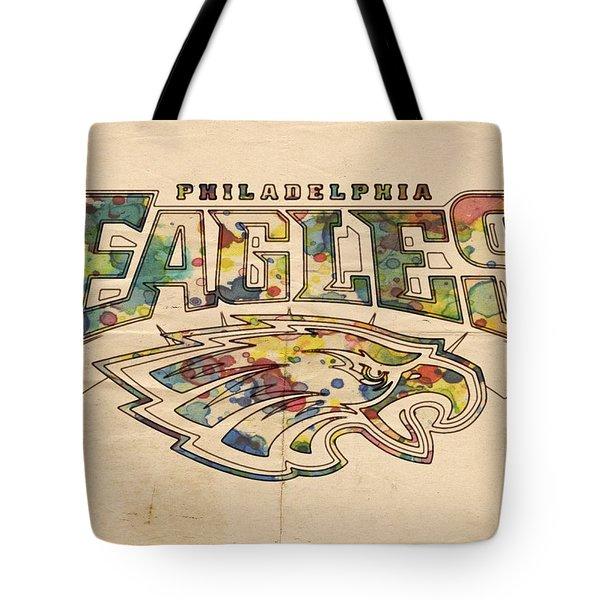 Philadelphia Eagles Poster Art Tote Bag