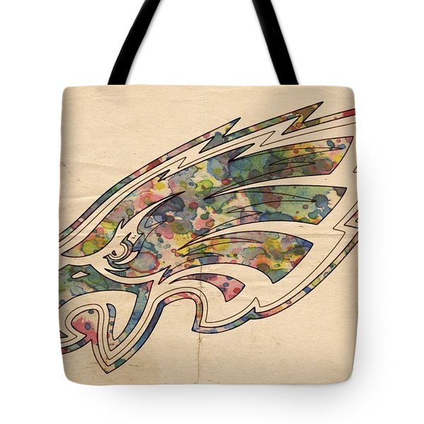 Philadelphia Eagles Poster Vintage Tote Bag