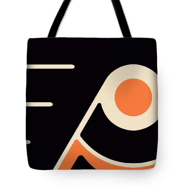 Philadelphia Flyers Tote Bag by Tony Rubino