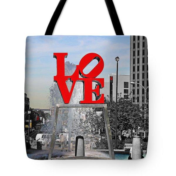 Philadelphia Love 2005 Tote Bag