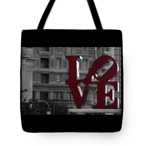 Philadelphia Love Tote Bag