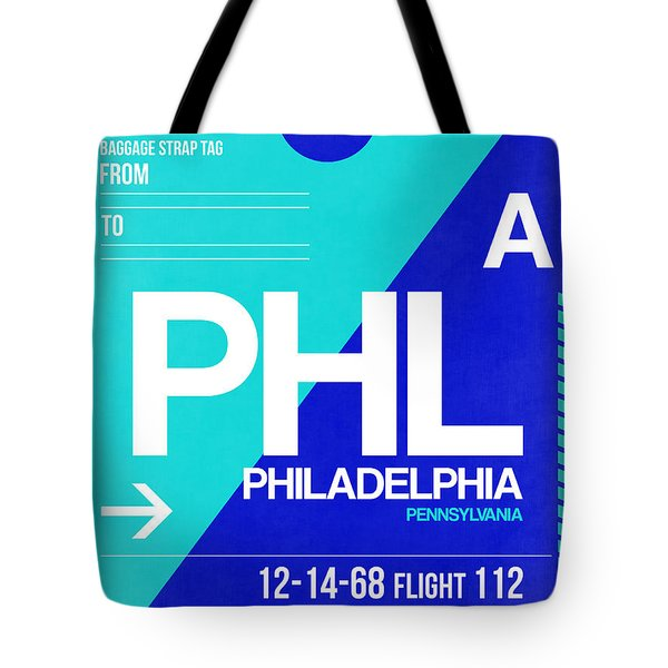 Philadelphia Luggage Poster 1 Tote Bag