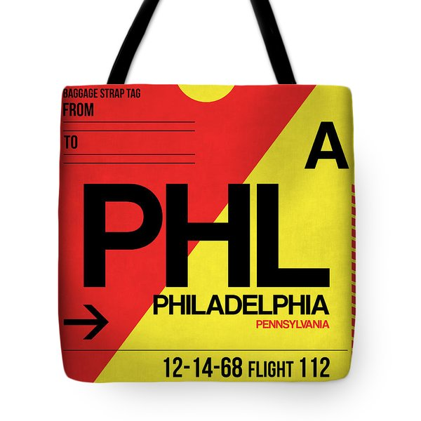 Philadelphia Luggage Poster 2 Tote Bag