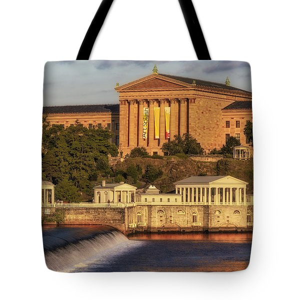 Philadelphia Museum Of Art Tote Bag by Susan Candelario