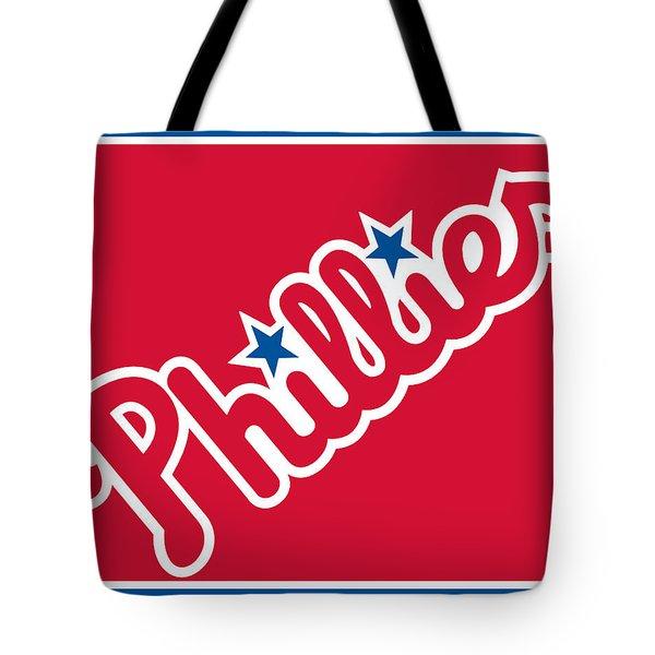 Philadelphia Phillies Baseball Tote Bag