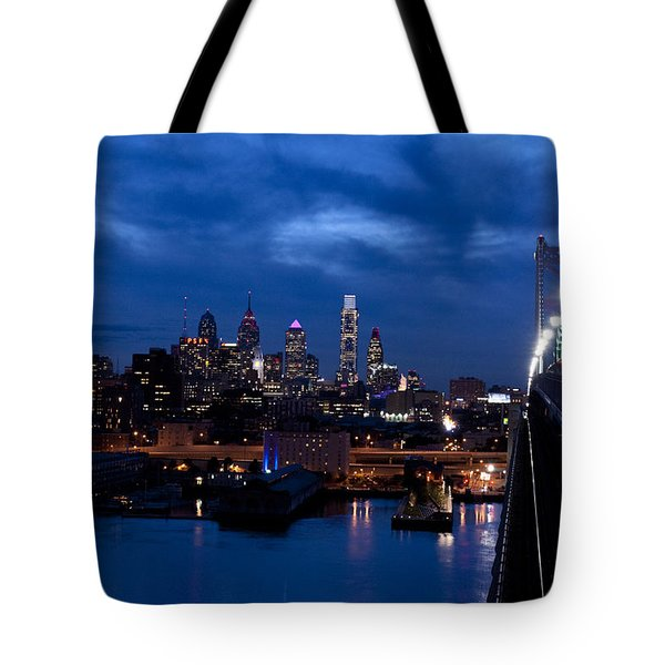 Philadelphia Twilight Tote Bag
